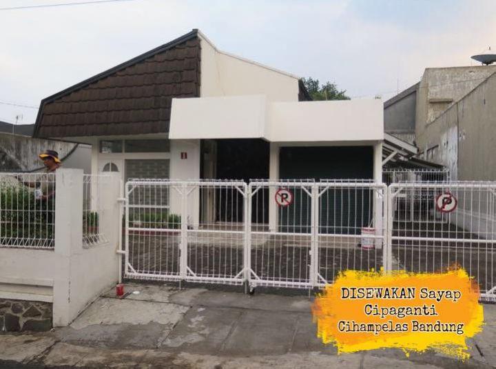 Sewa Ruang Kantor 210 Meter Di Cihampelas Bandung, Lokasi Strategis Dan Bagus